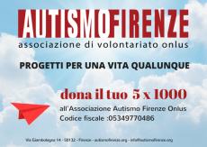 5 x 1000 Autismo Firenze